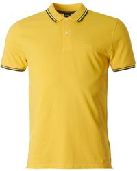 BOSS Black - Parlay Tipped Collar Polo - Lyst