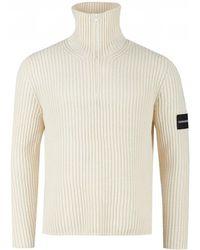 Calvin Klein Lambswool Half Zip Knit