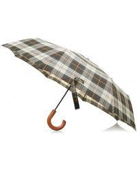 Barbour Small Telescopic Umbrella - Multicolour