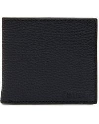 Barbour - Grain Leather Coin Holder Wallet - Lyst