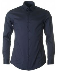 BOSS Black - Ilan Slim Fit Stretch Shirt - Lyst