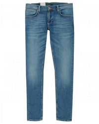 Nudie Jeans Tight Terry Skinny Fit Jeans - Blue