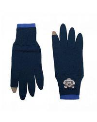KENZO Tiger Crest Gloves - Blue