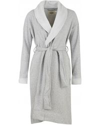 4220c520dd UGG - Duffield Ii Fleece Lined Dressing Gown - Lyst