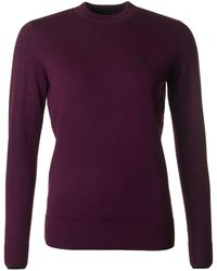 Fred Perry - Crew Neck Merino Knit - Lyst