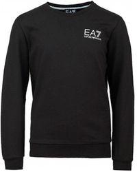 EA7 Crew Neck Logo Sweat