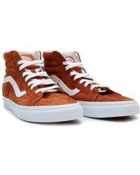 Vans Skate Hi Re-issue Suede Sneakers - Brown