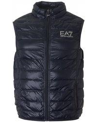 EA7 - Packaway Gilet - Lyst
