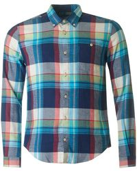 Barbour - Leith Checked Slim Fit Shirt - Lyst