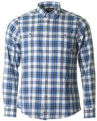 Barbour - Wrench Long Sleeved Checked Shirt - Lyst