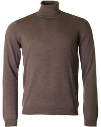 J.Lindeberg - Lyd Roll Neck Merino Knit - Lyst