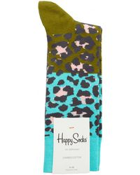 Happy Socks - Block Leopard Socks - Lyst