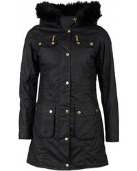 Barbour - Slipstream Wax Hooded Parka - Lyst