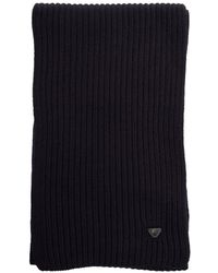 Armani Jeans - Knitted Scarf - Lyst