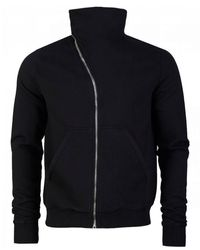 Rick Owens Drkshdw Mountain Zip Sweatshirt - Black