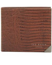 Ted Baker - Lizhurl Leather Wallet - Lyst