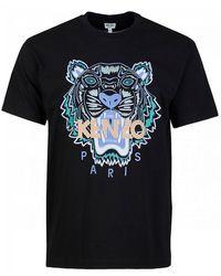 KENZO Actua Summer Tiger T-shirt - Black