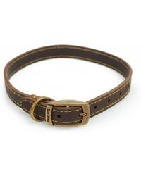 Barbour - Leather Dog Collar - Lyst