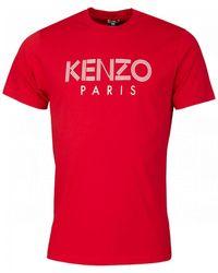 KENZO Paris T-shirt - Red