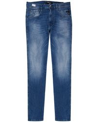 Replay - Anbass Slim Fit Hyperflex Jeans - Lyst