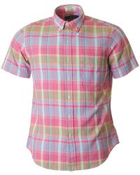 Polo Ralph Lauren - Custom Fit Madras Multi Check Shirt - Lyst