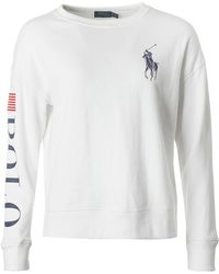 Polo Ralph Lauren - Logo Crew Neck Fleece - Lyst