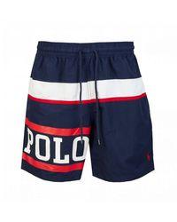 Polo Ralph Lauren Polo Sport Swim Shorts - Blue