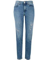 2471d7eb Lyst - Women's Tommy Hilfiger Straight-leg jeans Online Sale