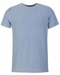 Oliver Spencer Conduit Stripe T-shirt - Blue