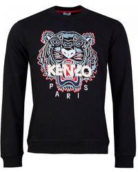 KENZO Icon Classic Tiger Sweatshirt - Black