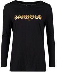 Barbour - Grandstand Long Sleeved Logo - Lyst