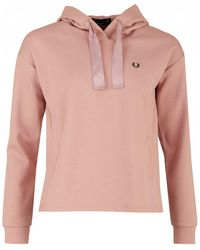 Fred Perry - Interlock Hooded Sweat - Lyst