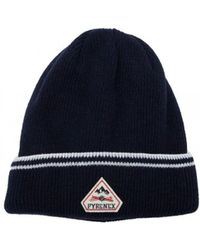 bd6427d7686 Pyrenex Colin Beanie Hat Navy in Blue for Men - Lyst