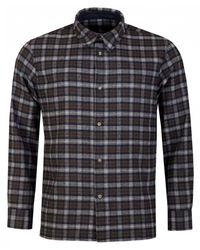 A.P.C. Land Flannel Checked Shirt - Multicolour
