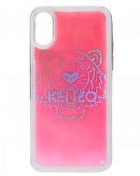 KENZO X Tiger Iphone Case - Pink