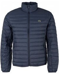 Lacoste - Padded Quilted Jacket - Lyst
