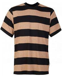Oliver Spencer Box Stripe T-shirt - Black