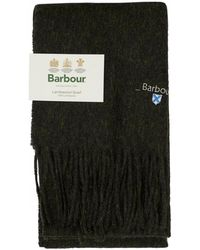 Barbour - Plain Lambswool Scarf - Lyst