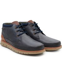Barbour Nelson Chukka Boots - Blue