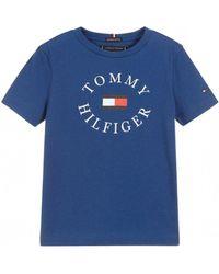 Tommy Hilfiger Bold Graphic Logo - Blue