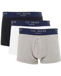 Ted Baker - Davinci 3 Pack Of Trunks - Lyst