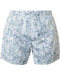 BOSS Black - Needlefish Swim Shorts - Lyst