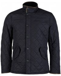 Barbour Powell Polar Quilted Jacket - Blue