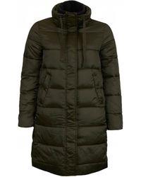 Barbour Weatheram Downfilled Coat - Green