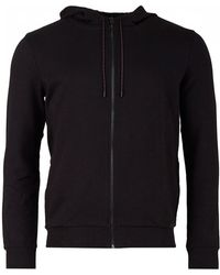 HUGO - Daple Zip Through Hooded Sweat - Lyst