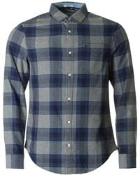 Original Penguin - Brushed Checked Shirt - Lyst