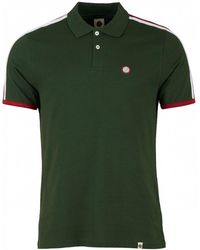 Pretty Green - Tilby Moon Contrast Panel Polo Shirt - Lyst