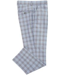 Gibson London - Pow Check Trousers - Lyst