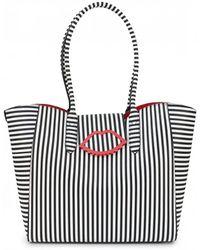 Lulu Guinness - Cupids Bow Sofia Tote Bag - Lyst