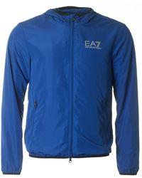 EA7 - Train Core Id Zip Through Windbreaker - Lyst